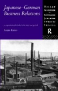 Ebook in inglese Japanese-German Business Relations Kudo, Akira