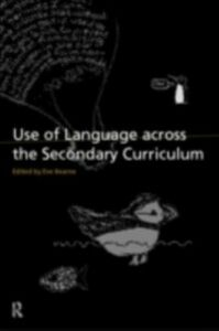Foto Cover di Use of Language Across the Secondary Curriculum, Ebook inglese di  edito da Taylor and Francis