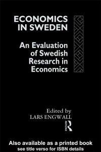 Foto Cover di Economics in Sweden, Ebook inglese di  edito da Taylor and Francis