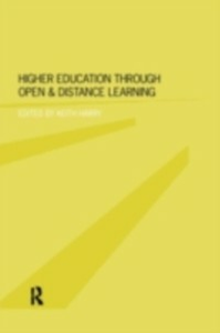 Ebook in inglese Higher Education Through Open and Distance Learning -, -