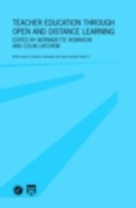 Ebook in inglese Teacher Education Through Open and Distance Learning