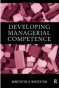 Ebook in inglese Developing Managerial Competence Winterton, Jonathan , Winterton, Ruth