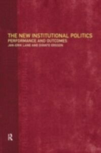 Foto Cover di New Institutional Politics, Ebook inglese di Svante Ersson,Jan-Erik Lane, edito da Taylor and Francis
