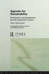 Agendas for Sustainability