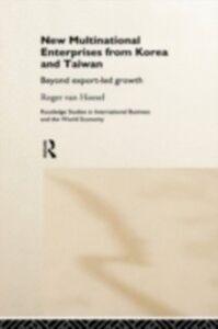 Ebook in inglese New Multinational Enterprises from Korea and Taiwan Hoesel, Roger van