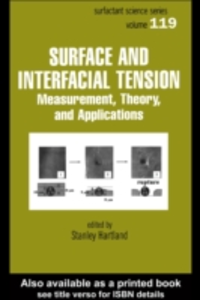 Ebook in inglese Surface and Interfacial Tension -, -