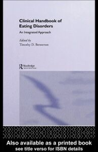 Foto Cover di Clinical Handbook of Eating Disorders, Ebook inglese di  edito da CRC Press