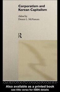 Foto Cover di Corporatism and Korean Capitalism, Ebook inglese di  edito da Taylor and Francis