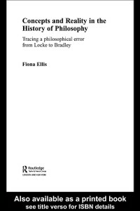 Ebook in inglese Concepts and Reality in the History of Philosophy Ellis, Fiona