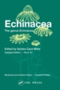 Foto Cover di Echinacea, Ebook inglese di  edito da CRC Press
