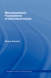 Macroeconomic Foundations of Macroeconomics