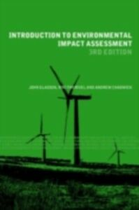 Ebook in inglese Introduction To Environmental Impact Assessment Chadwick, Andrew , Glasson, John , Therivel, R.