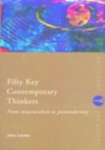 Ebook in inglese Fifty Key Contemporary Thinkers