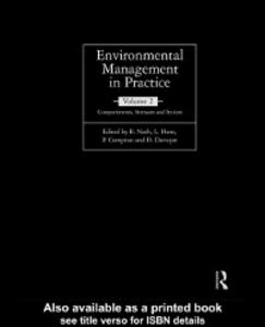 Ebook in inglese Environmental Management in Practice: Vol 2 -, -