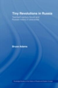 Ebook in inglese Tiny Revolutions in Russia Adams, Bruce