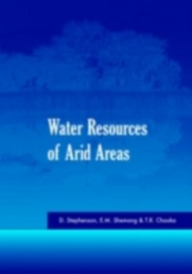 Ebook in inglese Water Resources of Arid Areas -, -