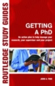 Ebook in inglese Getting a PhD Finn, John