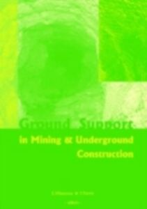 Ebook in inglese Ground Support in Mining and Underground Construction