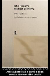 John Ruskin's Political Economy