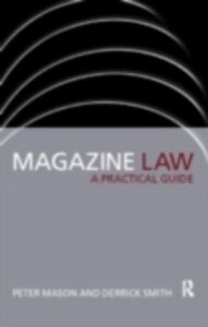 Foto Cover di Magazine Law, Ebook inglese di Peter Mason,Derrick Smith, edito da Taylor and Francis