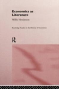 Ebook in inglese Economics as Literature Henderson, William
