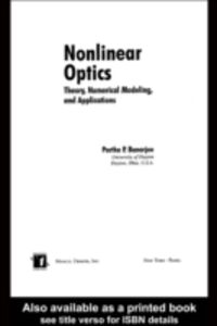 Ebook in inglese Nonlinear Optics -, -