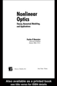 Ebook in inglese Nonlinear Optics -, -