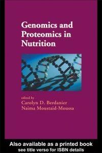 Foto Cover di Genomics and Proteomics in Nutrition, Ebook inglese di  edito da CRC Press