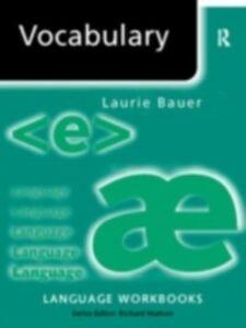 Ebook in inglese Vocabulary Bauer, Laurie