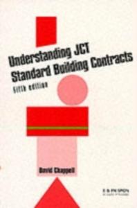 Ebook in inglese Understanding JCT Standard Building Contracts Chappell, David , Ltd, David Chappell Consultancy