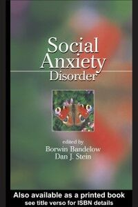 Ebook in inglese Social Anxiety Disorder -, -