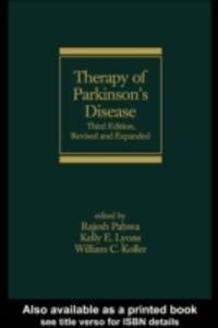 Ebook in inglese Therapy of Parkinson's Disease, Third Edition