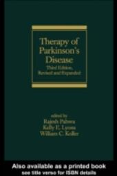 Therapy of Parkinson's Disease, Third Edition