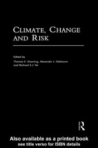 Ebook in inglese Climate, Change and Risk -, -