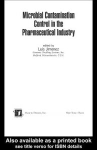 Ebook in inglese Microbial Contamination Control in the Pharmaceutical Industry