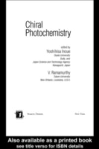 Ebook in inglese Chiral Photochemistry -, -