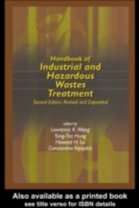 Ebook in inglese Handbook of Industrial and Hazardous Wastes Treatment