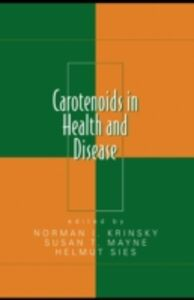 Ebook in inglese Carotenoids in Health and Disease -, -