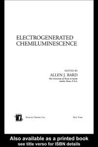 Ebook in inglese Electrogenerated Chemiluminescence -, -
