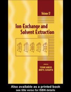 Foto Cover di Ion Exchange and Solvent Extraction, Ebook inglese di  edito da CRC Press