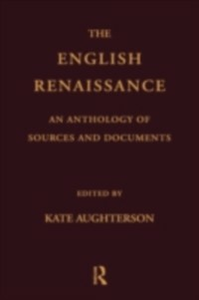 Ebook in inglese English Renaissance -, -