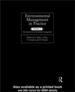 Foto Cover di Environmental Management in Practice: Vol 1, Ebook inglese di  edito da Taylor and Francis