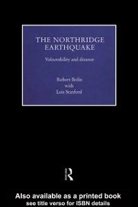 Ebook in inglese Northridge Earthquake Bolin, Robert , Stanford, Lois