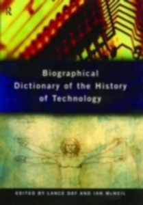 Ebook in inglese Biographical Dictionary of the History of Technology -, -