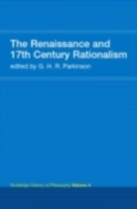 Ebook in inglese Routledge History of Philosophy Volume IV -, -