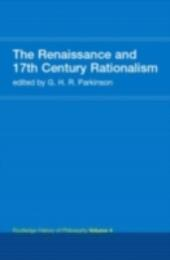Routledge History of Philosophy Volume IV