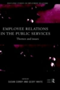 Foto Cover di Employee Relations in the Public Services, Ebook inglese di  edito da Taylor and Francis