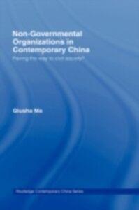 Ebook in inglese Non-Governmental Organizations in Contemporary China Ma, Qiusha