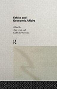 Foto Cover di Ethics and Economic Affairs, Ebook inglese di  edito da Taylor and Francis