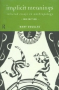 Ebook in inglese Implicit Meanings Douglas, Mary , Douglas, Professor Mary